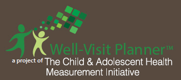 Well-Visit Planner, Your Child, Your Well-Visit